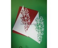 Хартиен елемент - Коледна декорация 2